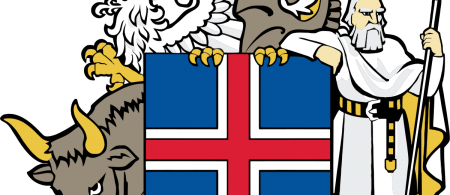 Logo for the Government of Iceland