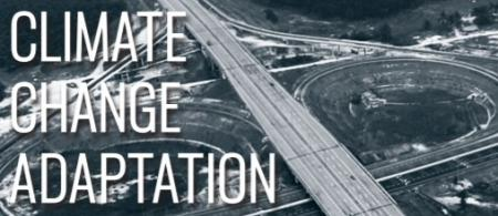 Cover page of Transport Sector Climate Change Adaptation Guidance Note: highway junction with little traffic