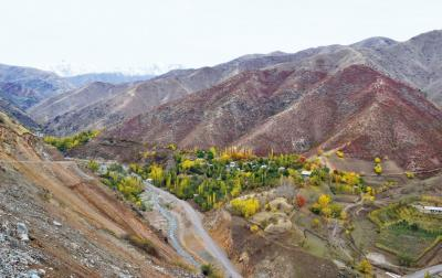 Cover photo: Remote village in Central Asia. (Photo by A. Uzbekova)