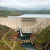 The Katse Dam, on the Malibamat'so River in Lesotho, was completed in 2009, as the centrepiece of the Phase 1 of the LHWP. Photo provided by: Amada44 / Wikimedia Commons.